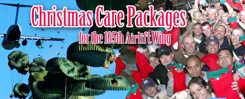 Christmas Care Packages for the 165th Airlift Wing